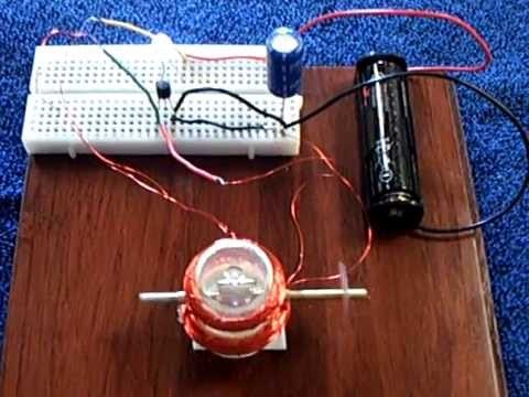 Electronic Newman Motor --- Super Simple - YouTube