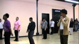 K-Wang Wit It Line Dance Extended Version!!!   Purple Charlotte Steppers Line Dance Class