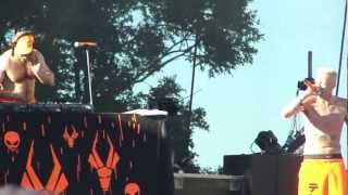 Die Antwoord 'This is Why I'm Hot' Austin City Limits 2012 - LIVE HD