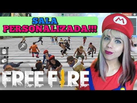 🔴💥💀 SALA PERSONALIZADA DE POBRE 💀💥 - FREE FIRE AO VIVO 🔴