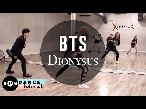 """BTS """"Dionysus"""" Dance Tutorial (Chorus)"""