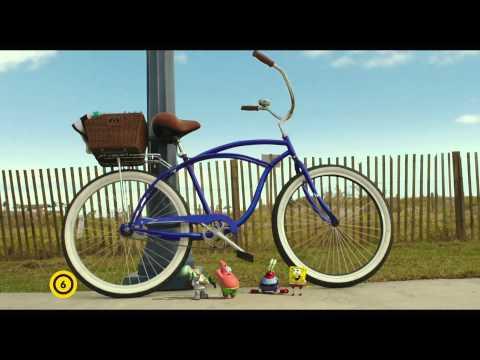 SpongyaBob: Ki a vízből! - Filmklip: SpongyaBobék a bringán letöltés