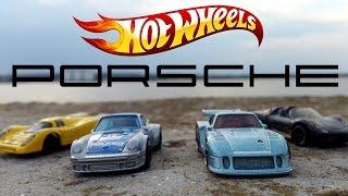 Гоночные игрушки машинки Хот Вилс Порше / Hot Wheels Porsche series