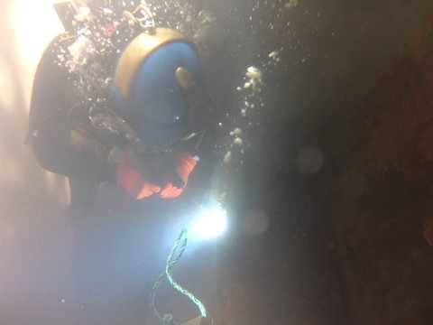 underwater welding training