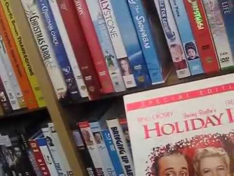 My movie collection 2016 christmas youtube for Christmas movies on cable tv tonight
