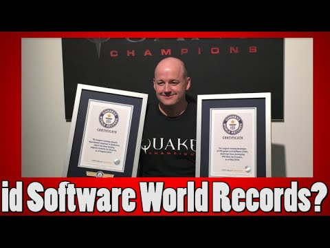 id Software Breaks Several World Records?!