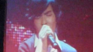 Xiao Jing Teng singing Shou Chang at Lee Wei Song & Lee Si Song's Concert