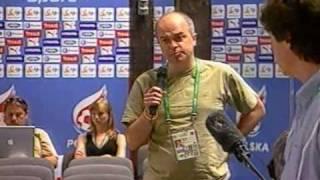 MŚ 2006: kucharz zamiast trenera i piłkarzy cz.2 (konferencja w Barsinghausen, 11.06.2006)