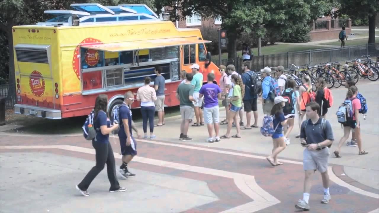 On Campus Dining At Auburn University Youtube