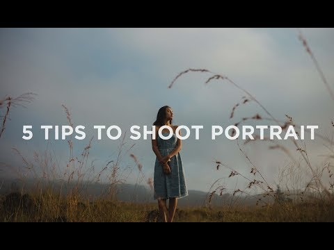 5 Tips For Better Portraits | Shooting Like A Pro!