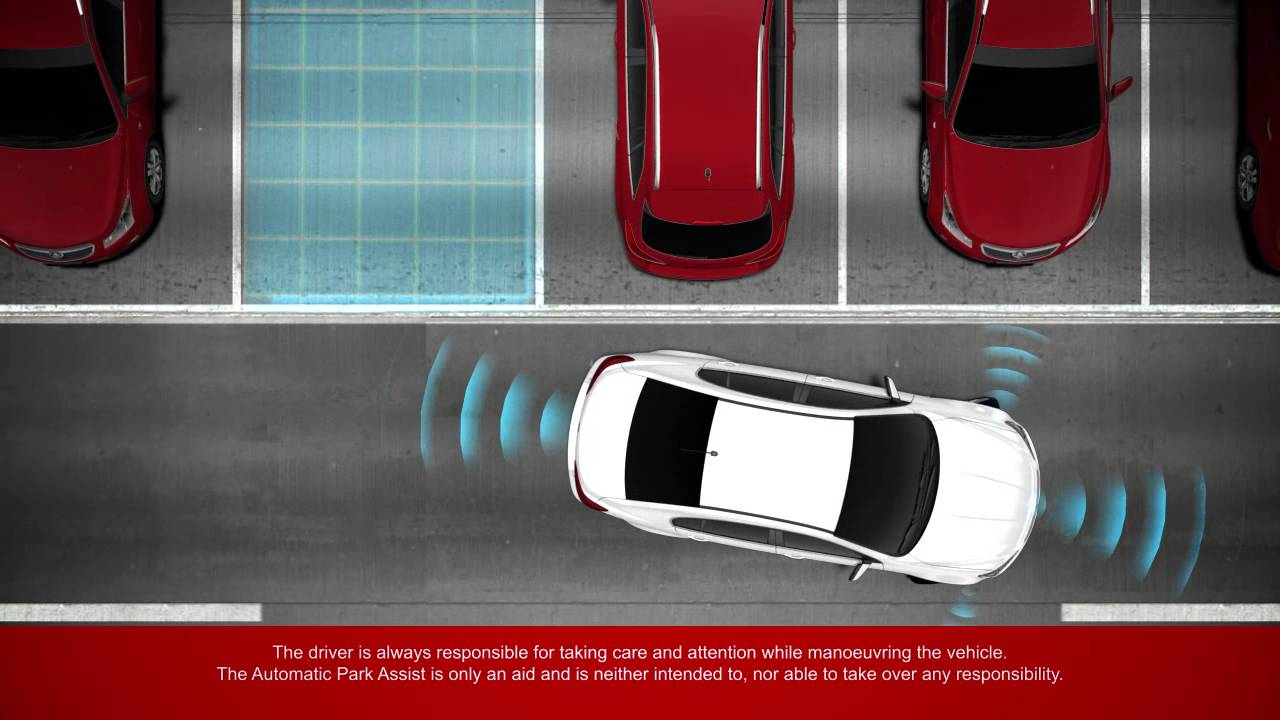 Holden Technology Automatic Park Assist Right Angle Parking