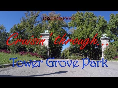 Cruisin' through...Tower Grove Park in St. Louis, MO