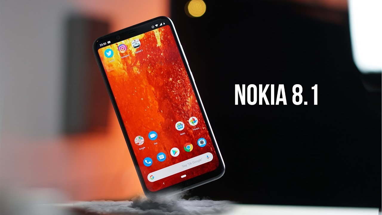 Image result for Nokia 8.1 on youtube
