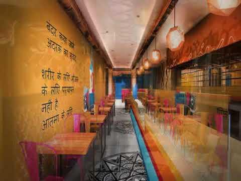 Indian Restaurant Interior Decorating Ideas Home Decor Pictures