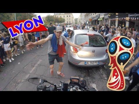 Célébration Coupe du monde 2018 - Lyon - FRANCE 🇫🇷  ⭐️⭐️