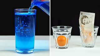AMAZING WATER TRICKS& EXPERIMENTS ! Science Experiments That You Can Do At Home