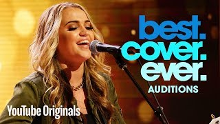 """The Auditions: Riley Biederer performs """"Chained to the Rhythm"""" for Katy Perry"""