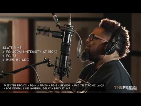 Slate VMS vs. Sony C-800G Mic Comparison feat. Dave Hollister