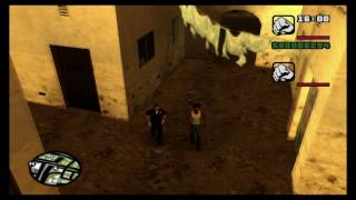 GTA San Andreas Two-Player. CO-OP Marker Location! (Tutorial)