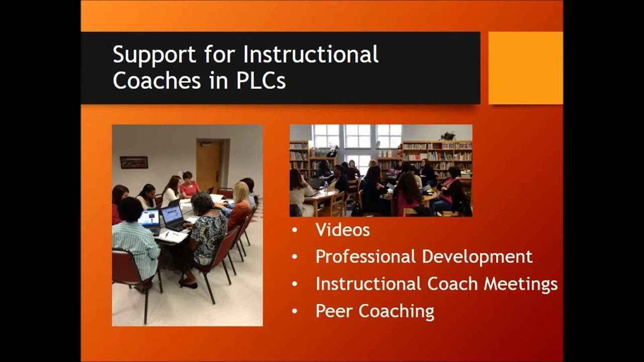 The Role Of The Instructional Coach In Plcs Youtube
