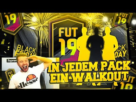 FIFA 19: Walkout in FAST jedem Pack 😱😱 Best of Black Friday Pack Opening