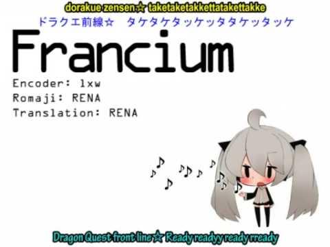 Francium with English Sub - Hatsune Miku - sm6460566 - HQ