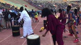 AFRICAN NDIGUEL COMPANY au Stade LSS