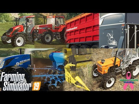 MASSIVE INFO DUMP! FIAT! | Farming Simulator 19 Fact Sheets!