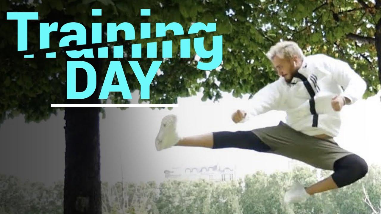 Saad Lamjarred - Training day