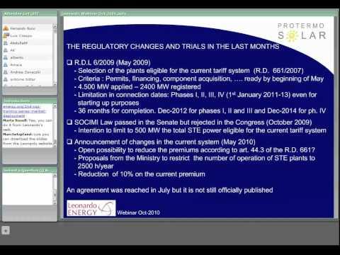 2nd CSP Training series : market deployment