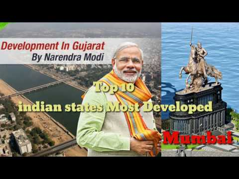 Top 10 indian states most developed 2017