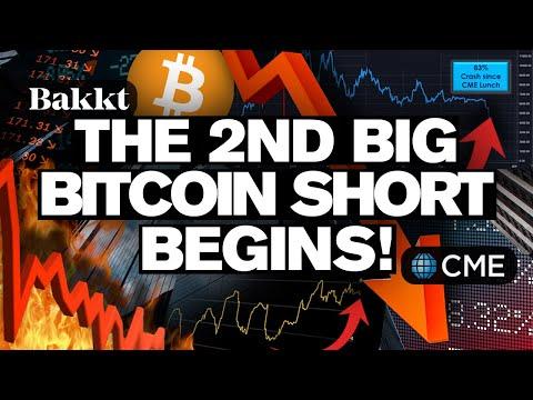BITCOINs 2nd Big Short BEGINS! Futures The Culprit?