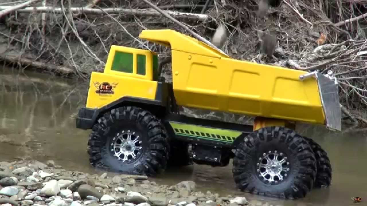 Rc Adventures Radio Controlled 4x4 Tonka Mining Truck Youtube
