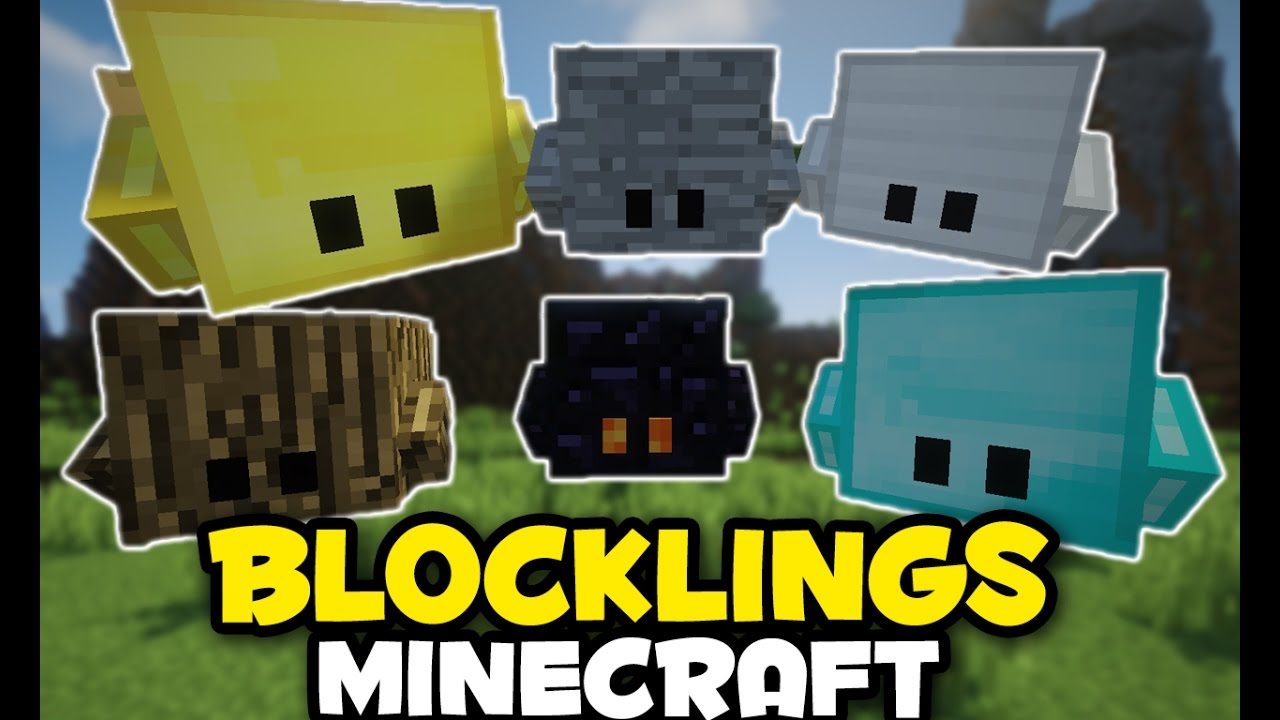 minecraft mods blocklings