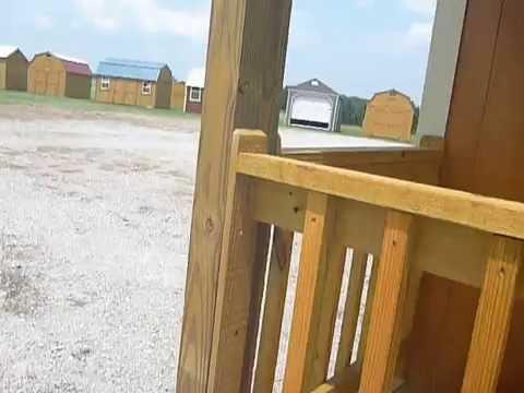 Repeat Derksen Portable Buildings 12 x 20 cabin Berryville
