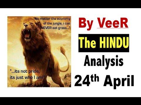 24 Apr-2017-The Hindu Full Editorial Discussion + PIB Analysis-[Fake News, Babri Masjid Case]