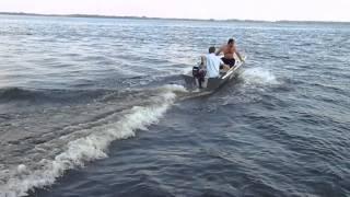 Лодка стеклопластик 3.3метра под Suzuki DF 5.  (2).(Стеклопластиковая лодка 3.3 метра., 2013-08-24T06:41:36.000Z)