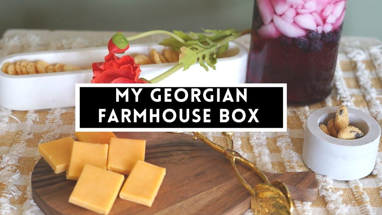 Summer Georgian Farmhouse Home Decor 2021