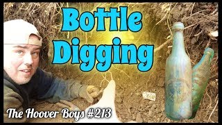 Bottle Digging 1800's Bottle Dump! VERY RARE Beer Bottle Found