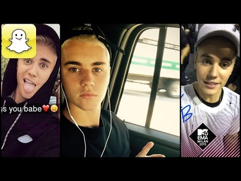 Justin Bieber - Snapchat Video Compilation (Best 2016★)