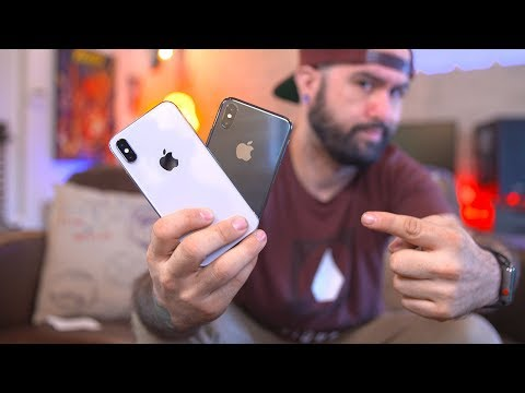 Download Youtube: iPhone X Silver vs Space Gray: Unboxing & Impressions vs iPhone 8 Plus