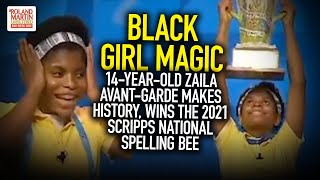 14-Year-Old Zaila Avant-Garde Makes History, Wins The 2021 Scripps National Spelling Bee