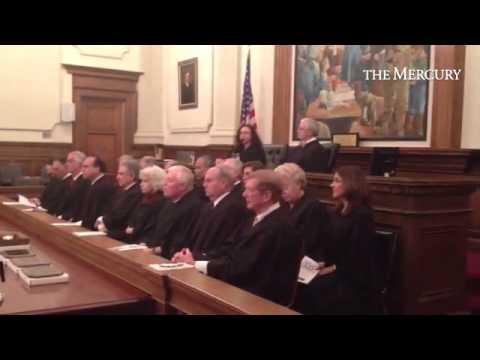 #MontcoPa Judge Gail Weilheimer presents #LawDay address