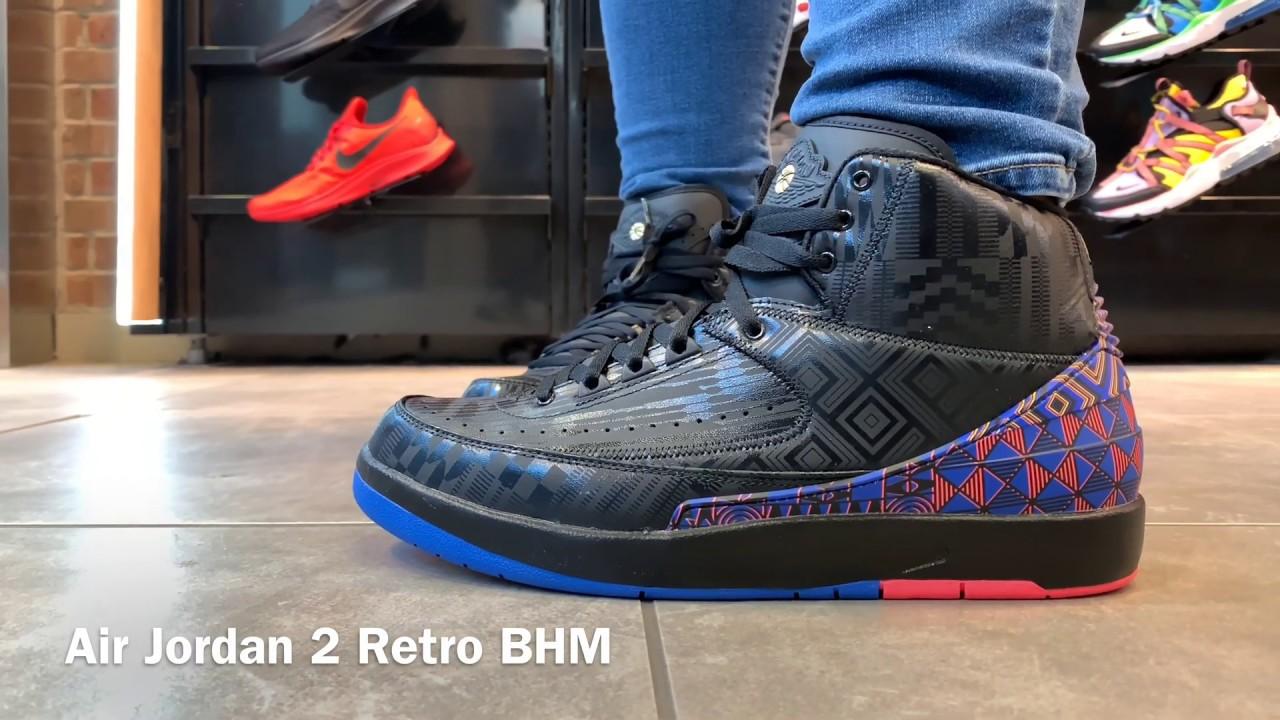 size 40 4b6b4 337a4 Air Jordan 2 Retro BHM