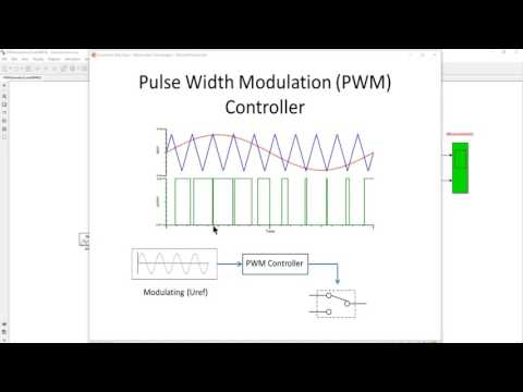 Solar Photovoltaic Generation Part 1: Pulse Width Modulation (PWM) DC/AC Inverter
