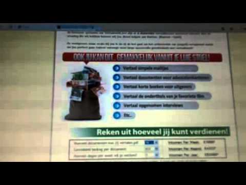 Vertaalwerk: Vertaling Nederlands Engels - YouTube