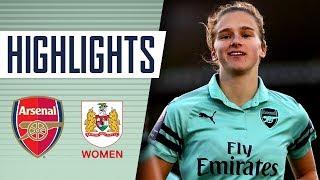 GOALS & HIGHLIGHTS | Arsenal Women 4 - 0 Bristol City WFC