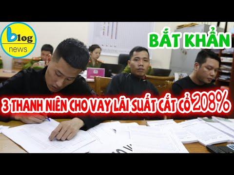 Cho vay nặng lãi 208% tại Đà Lạt, 3 thanh niên bị bắt khẩn cấp