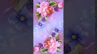 Pink bright spring flowers Theme P screenshot 3