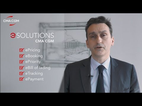 What is CMA CGM eSolutions?